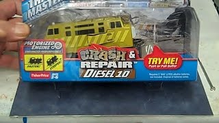 Thomas & Friends Diesel 10 Crash and Repair Diesel Fisher Price 2015 Trackmaster