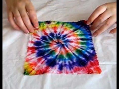 Как батиком красить ткань