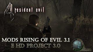 Resident Evil 4 PRO - Mods Rising of Evil 3.1 e HD Project 3.0 #6