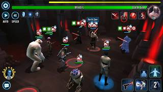 Heroic Sith Raid P2 - Wampa 4% - Star Wars Galaxy of Heroes