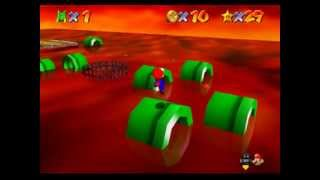 LP Super Mario 64 The Missing Stars part 5- The Lava World