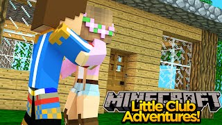 Minecraft Little club Adventures -Little Kelly & Little Donny MOVE IN TOGETHER!!!