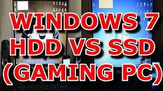 INICIO WINDOWS 7 CON SSD VS HDD (GAMING PC)