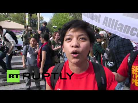 USA: First defeat NATO, then Wall Street - Occupy activist