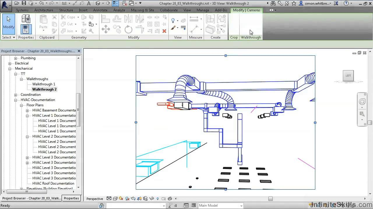 Revit Mep 2014 Tutorial Walkthroughs Youtube