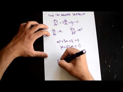General Solution of a Differential Equation
