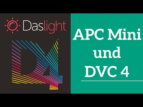 Wie steuer ich Daslight 4 mit dem AKAI APC Mini ?  | Daslight 4 DVC4 Videotutorial