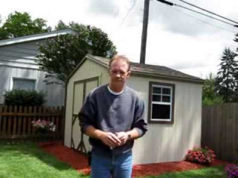 10x8 Storage Shed Kit by Handy Home Review