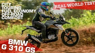 BMW G 310 GS Review | Is it really a GS? | Real World Test