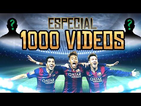 ESPECIAL 1000 VÍDEOS! - FACECAM - UT: Triangulo Mágico: Messi, Neymar e Suarez!