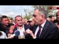 Բեռնատարի վարորդները փակել են Երևան-Գյումրի մայրուղու Ուջանի հատվածը
