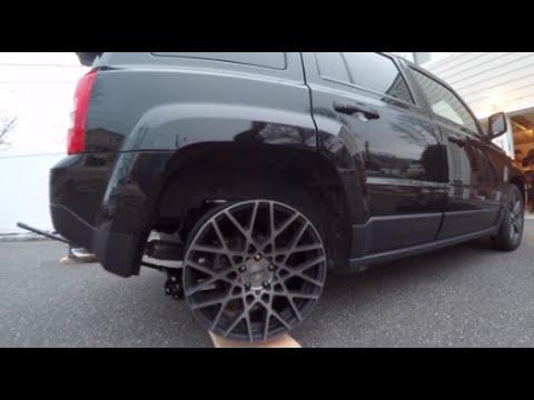 Rotiform Rims on a Slammed Jeep? //@Saucey_Media