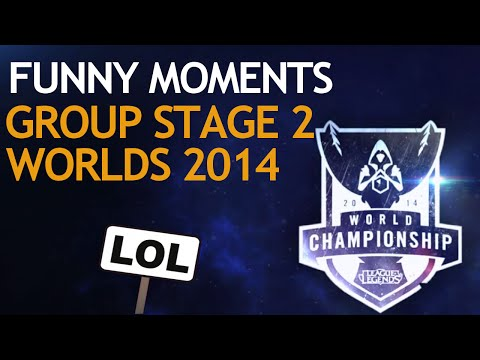 Worlds Funny Moments Compilation - Group Stage 2 (league Of Legends) video