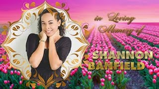 The Funeral Service of the late Shannon Banfield