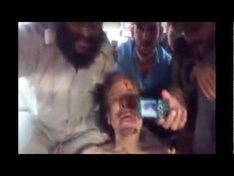 Nuevo Vídeo Del Cadáver De Muamar Gadafi video
