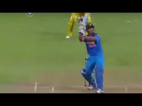 6 Sixes In An Over By Dhoni video