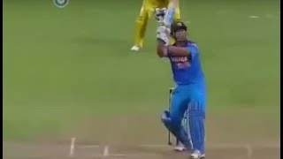 6 Sixes in an Over by Dhoni