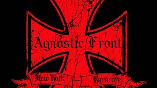 Watch Agnostic Front My War video