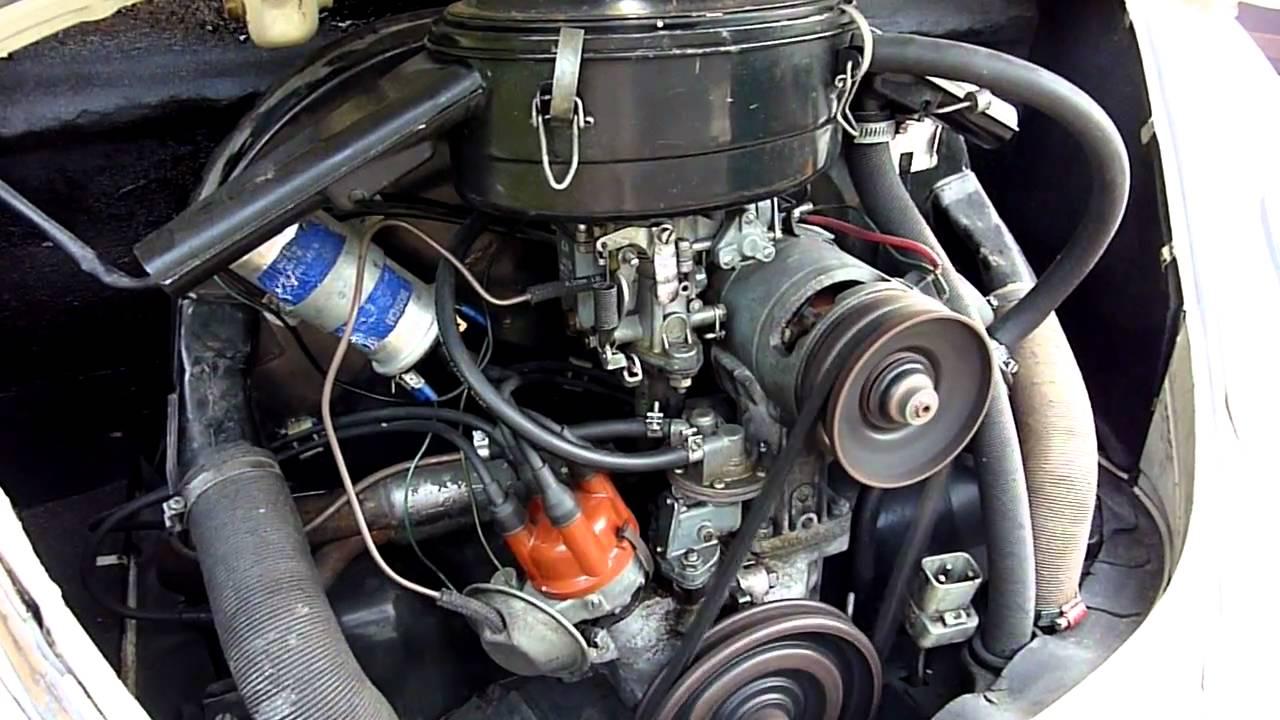 1967 Vw Beetle Engine Knocking Noise Youtube