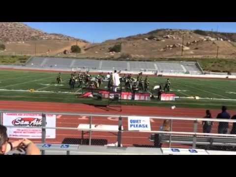Desert Hot Springs High School Golden Eagle Regiment Moveme