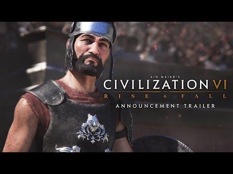 Civilization VI: Rise and Fall Expansion Announcement Trailer