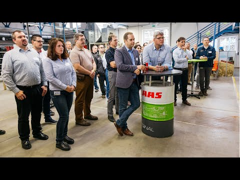 A CLAAS Hungária Kft  gyárszimulációs versenyében kereste a legjobbakat - 2019.10.29.