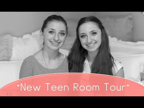 New Teen Girl Room Tour | Brooklyn And Bailey video