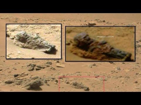 На Марсе нашли могилу инопланетного солдата