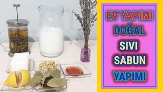 HEMEN DENEMEK ISTEYECEKSİNİZ,Kalıp sabundan sıvı sabun yapımı,doğal sıvı sabun yapımı,sağlıklı yaşam