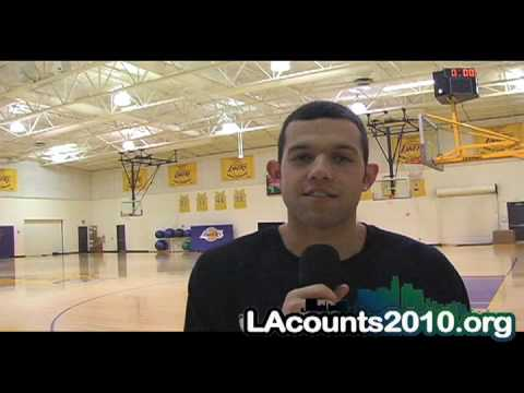 LA LAKERS JORDAN FARMAR LA VOICES OF THE CENSUS