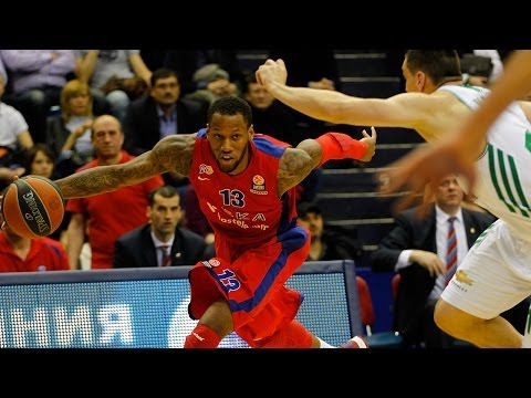 Highlights: CSKA Moscow-Panathinaikos Athens, Playoffs Game 2
