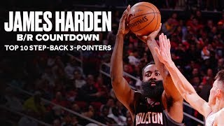 James Harden's Top 10 Step-Back 3-Pointers | B/R Countdown