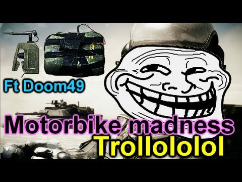 BF3 Montage - Motorbike Madness Troll