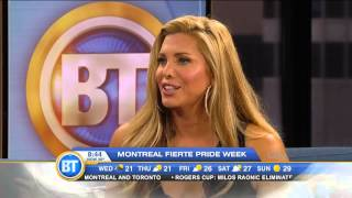 Candis Cayne in Montreal for Pride