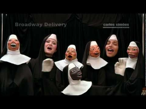 Show Musical de Bonecos BROADWAY DELIVERY - FILMAGEM CARLOSSIMOESIMAGENS