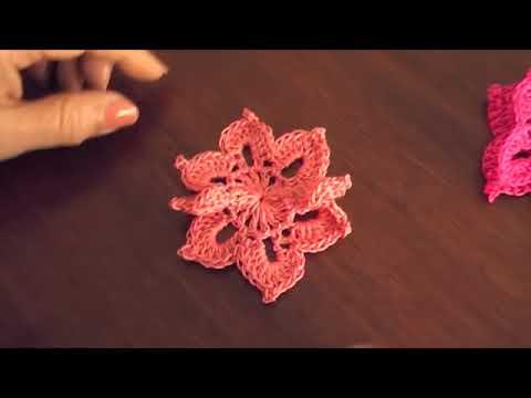 Mariposas en crochet / English subtitles: crochet butterflies