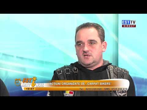 CARPAT BIKERS LA MATINAL ESTTV 10 03 2015