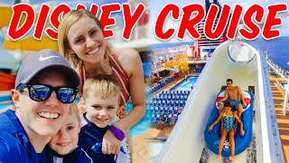 DISNEY CRUISE 2019! Water Slides On The Ship!