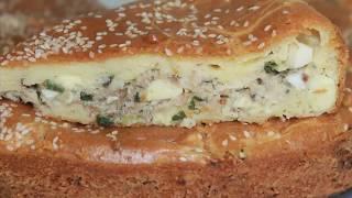 Быстрый рыбный пирог, просто и очень вкусно. Рецепт проще простого!