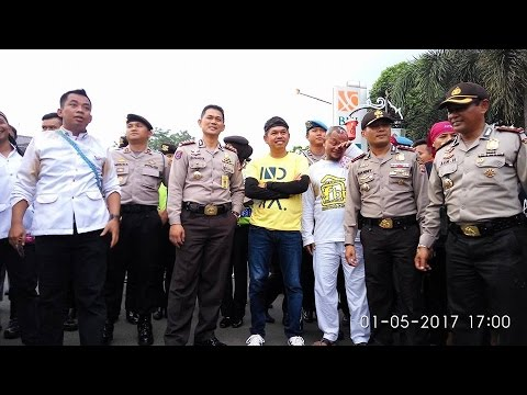 Pawai Hari Buruh Internasional May Day 2017 Di Purwakarta ISTIMEWA