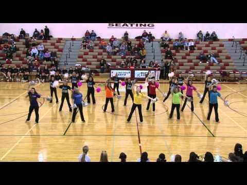 Pnhs Poms - Black Eye Peas The Time Dance Routine Senior Night 2011 Plainfield North High School Il video