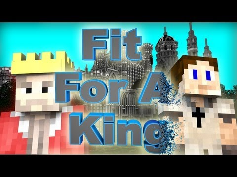 SCMowns - Fit For A King By: Josh Woodward - Minecraft 3D Animation Music Video ( 30 K! Thanks)