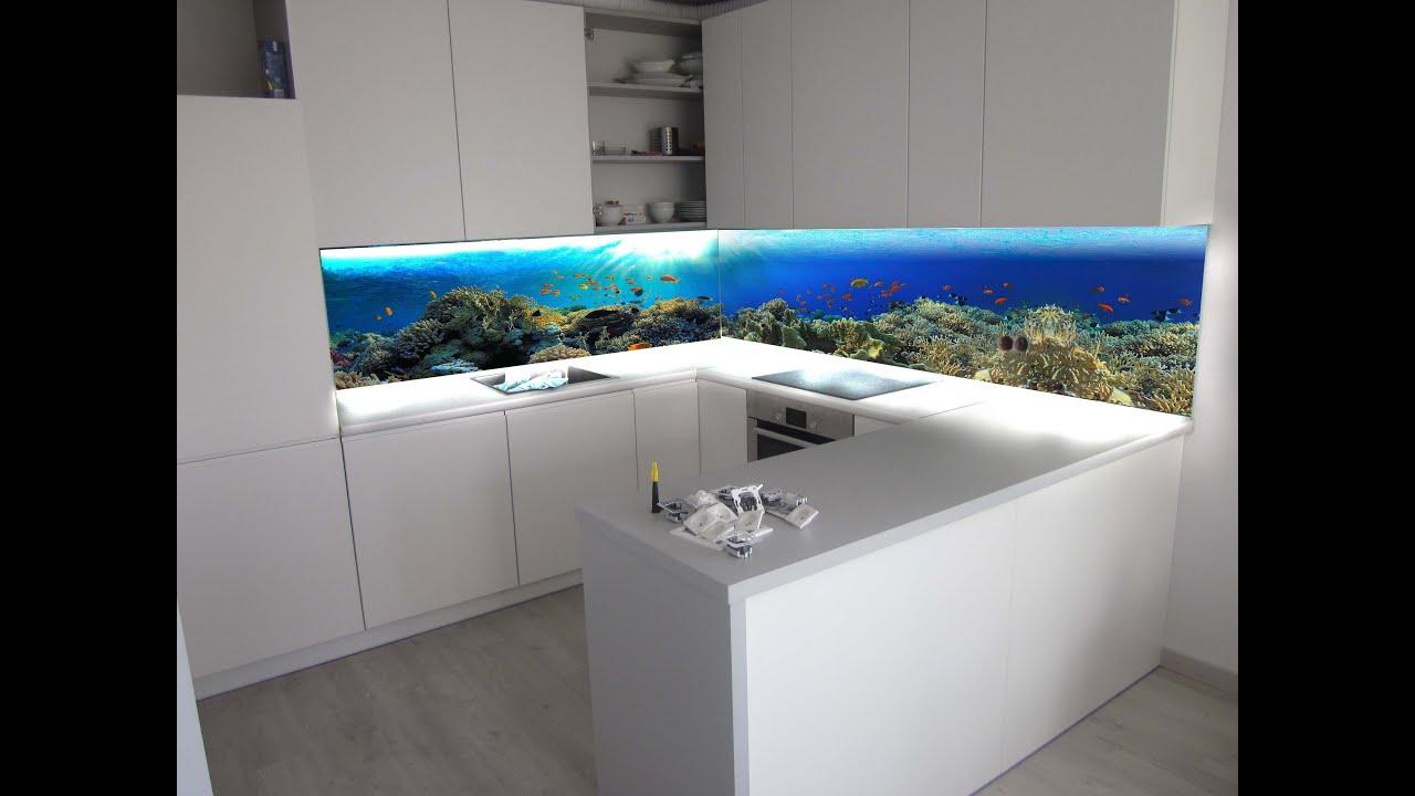 ZOBACZ niesamowite Panele szklane z grafiką do kuchni   -> Kuchnie Szklane Fronty Opinie