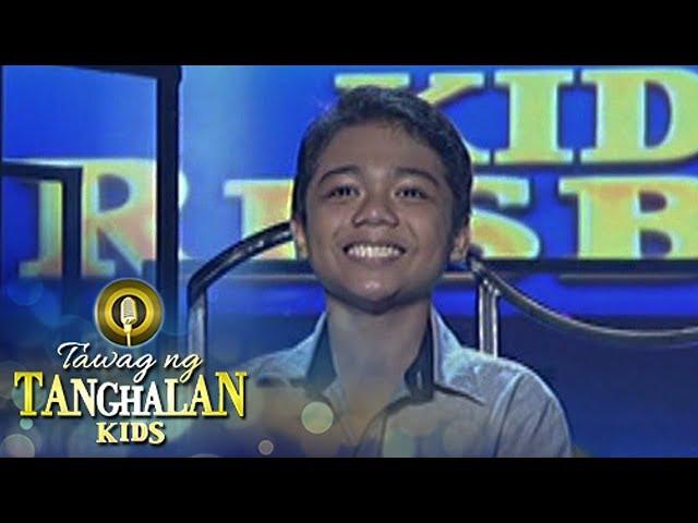 Tawag ng Tanghalan Kids: John Ramirez wins!