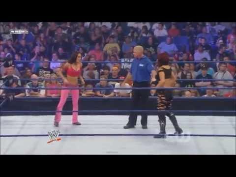 WWE Smackdown 05/09/08 - Brie Bella vs Victoria