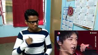 Indian reacting to 【阿里山的姑娘】华晨宇东方卫视天籁之战第二季第一期挑战曲目 Chenyu Hua   Ep 1 of The Next Season 2  The Shang