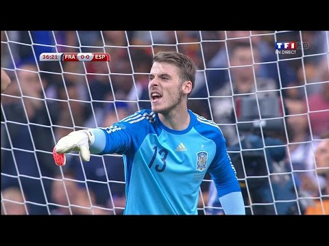 David De Gea Vs. France 14-15 [Away] [HD 1080p]