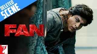 Deleted Scene:1 | FAN | Train Action Sequence | Shah Rukh Khan