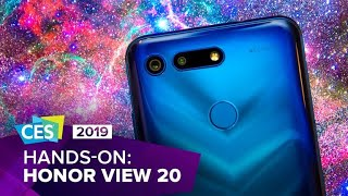 CES 2019: The Honor View 20 is a dazzling-looking phone