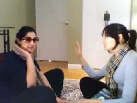 Trendy Muslim Aunties do Sufi Yoga Video